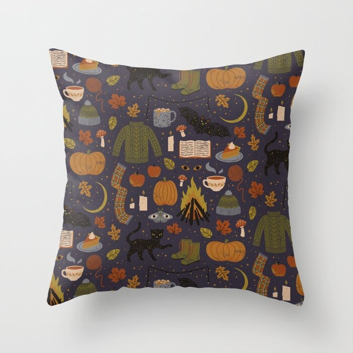 Autumn Nights Pillow Covers And Insert