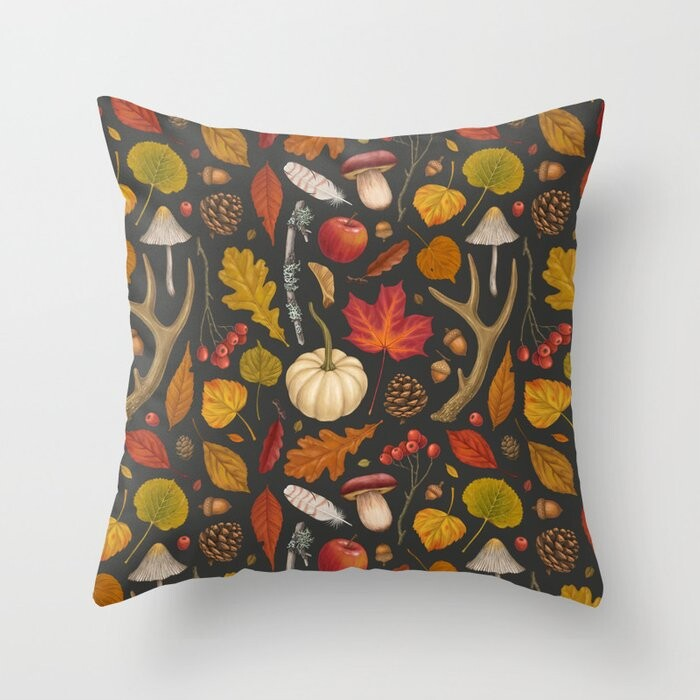 Autumn Walk Pillow Covers And Insert